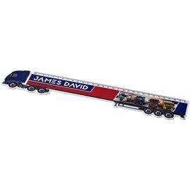 Regla de plástico con forma de camión de 30 cm Loki