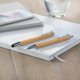 Set bolígrafo y portaminas Bambooset