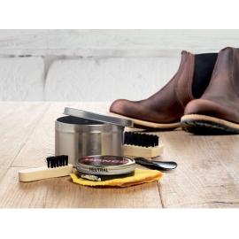 Kit limpia zapatos